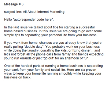 Pre-Written Lead Capture and Follow-Up Email Marketing Messages